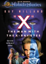 X : THE MAN WITH THE X-RAY EYES Poster 1