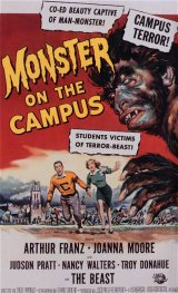 MONSTER ON THE CAMPUS Poster 1