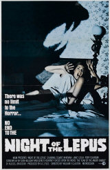 NIGHT OF THE LEPUS - Affiche am�ricaine