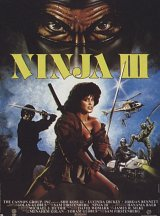 NINJA III : THE DOMINATION Poster 1