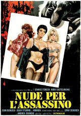 NUDE PER L'ASSASSINO Poster 1