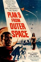 PLAN 9 FROM OUTER SPACE - Poster