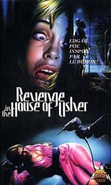 REVENGE IN THE HOUSE OF USHER Poster 2