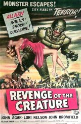 REVENGE OF THE CREATURE Poster 3
