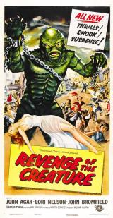 REVENGE OF THE CREATURE - Poster 5