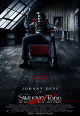 SWEENEY TODD : THE DEMON BARBER OF FLEET STREET - US Poster