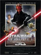 STAR WARS : EPISODE I - 3D - Poster