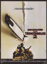 TEXAS CHAINSAW MASSACRE PART 2 Poster 2