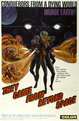 THEY CAME FROM BEYOND SPACE - Poster