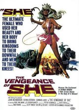 VENGEANCE OF SHE, THE Poster 1