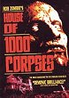 THE HOUSE OF 1000 CORPSES DVD Zone 1 (USA)