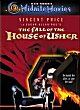 HOUSE OF USHER DVD Zone 1 (USA)