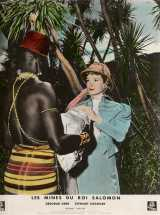 KING SOLOMON'S MINES Lobby card