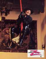 ZORRO, THE GAY BLADE Lobby card