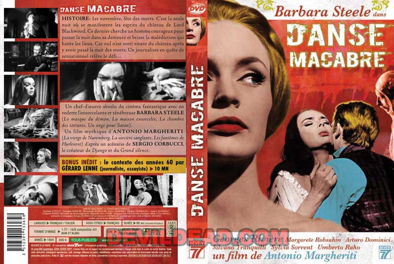 DANZA MACABRA DVD Zone 2 (France)
