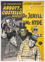ABBOTT AND COSTELLO MEET DR. JEKYLL AND MR. HYDE : Abbott og Costello møder Dr. Jekyll og Mr. Hyde - Poster #12764