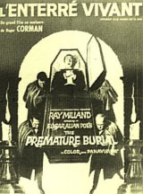 PREMATURE BURIAL, THE Poster 1