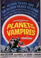 PLANET OF THE VAMPIRES - Poster