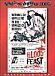 BLOOD FEAST DVD Zone 1 (USA)