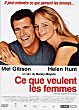 WHAT WOMEN WANT DVD Zone 2 (France)